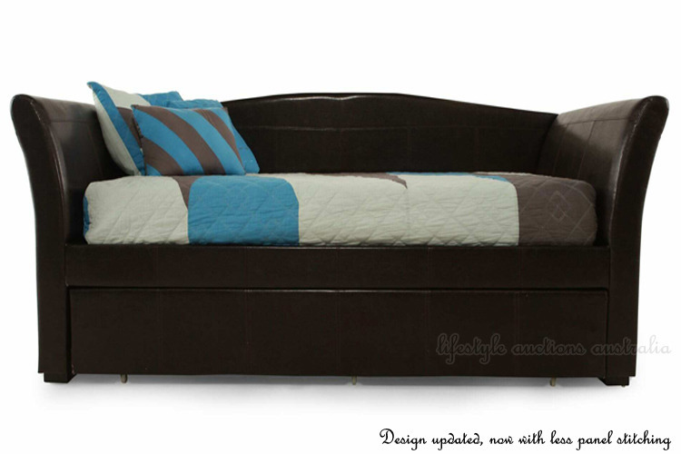 New Single Or King Single Sofa Lounge Trundle Bed Frame Or