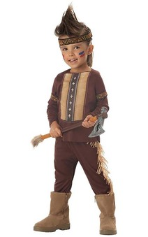 Lil' Indian Warrior Toddler Costume