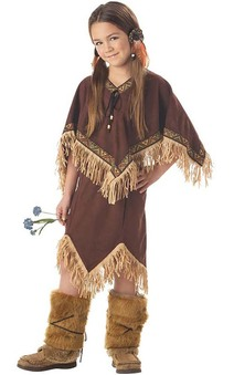Indian Princess Wildflower Child Costume