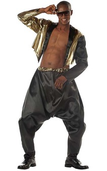 Old School Rapper Mc Hammer Adult Costume