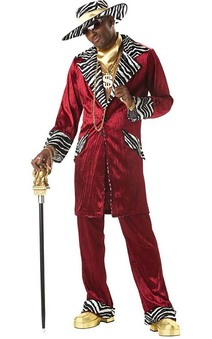 Sweet Pimp Daddy Adult Costume