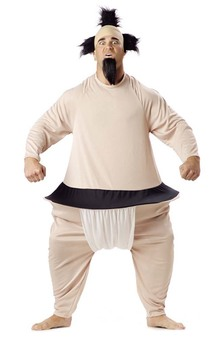 ADULT MENS FUN NOVELTY SUMO WRESTLER