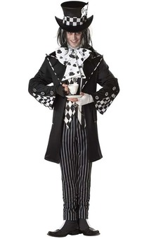 Dark Mad Hatter Adults Costume