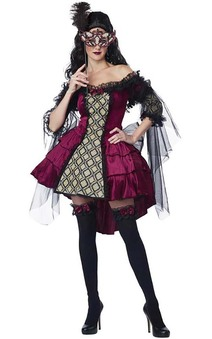 Mysterious Masquerade Adult Costume