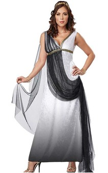 Deluxe Roman Empress Adult Toga Costume