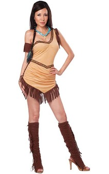 Native American Beauty Pocohontas Adult Indian Costume
