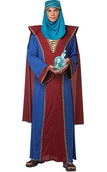 Balthasar Of Arabia Adult King Three Wise Men Costume