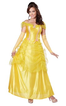 Princess Belle Adult Beauty & The Beast Costume