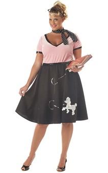 50's Sweetheart Plus Size Adult Costume