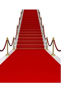 Red Carpet Runner Party Decoration