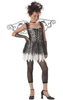 Dark Angel Tween Hallowenn Costume