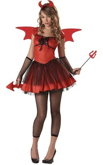 Devil Doll Teen Halloween Costume