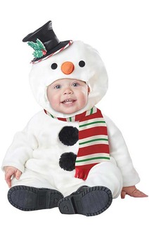 Lil' Snowman Infant & Toddler Christmas Costume