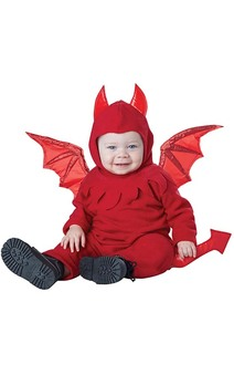 Lil' Devil Infant Baby Costume