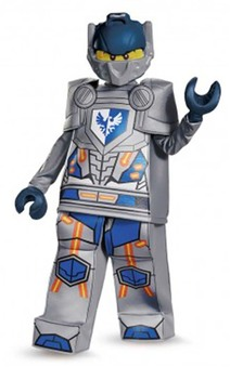 Clay Prestige Nexo Knights Lego Child Costume