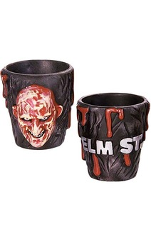 Friday the 13th Freddy Shot Glasses