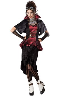 Steampunk Victorian Vampire Adults Costume