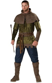Robin Hood Medieval Adults Costume