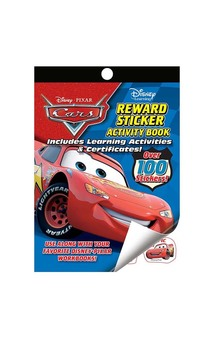 Disney Cars Reward Sticker Activity Book