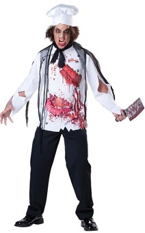 Scary Goremet Chef Adults Costume