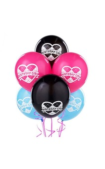 MONSTER HIGH PARTY DECORATIONS LATEX HELIUM BALLOONS
