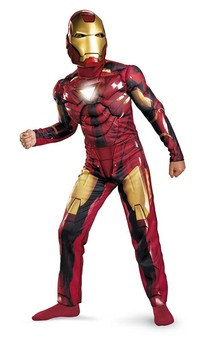 Iron Man Mark V1 light up Child Costume