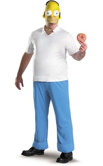 Homer Simpson Adult Costume