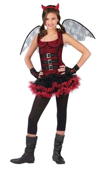 Evil Fairy Child Costume