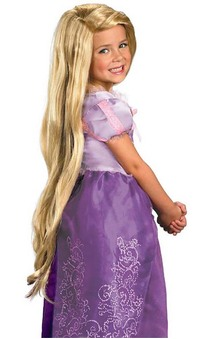 Princess Rapunzel Child Wig