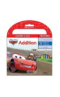 Disney Cars Addition Learn And Go Activity Book