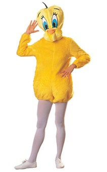 Tweety Bird Adult Looney Tunes Bird Costume