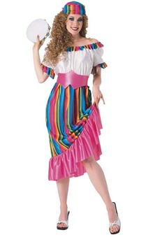 South Of The Border Adult Mexican Costume