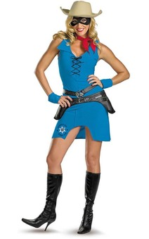 Lone Ranger Cowgirl Adult Costume
