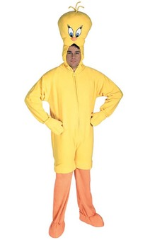 Tweety Bird Adult Loone Tunes Costume