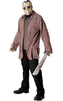Jason Voorhees Friday the 13th Deluxe Adult Costume