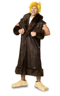 Barney Rubble Deluxe Adult Plus Flintstones Costume