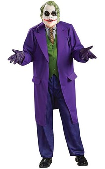 Deluxe The Joker Batman Adult Plus Costume