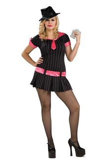 Gangster Moll Adult Plus Costume