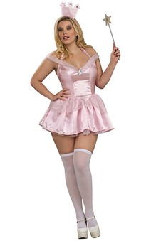 Glinda Wizard Of Oz Adult Plus Costume