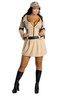Sexy Ghostbusters Adult Plus Costume