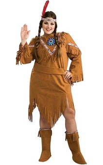 Native American Indian Girl Adult Costume