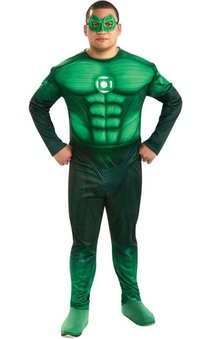 Hal Jordan Green Lantern Plus Size Adult Costume