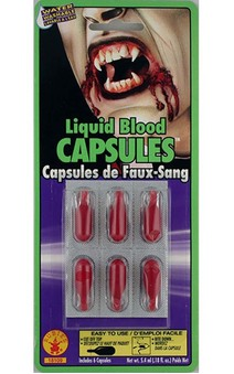 Fake Liquid Blood Capsules