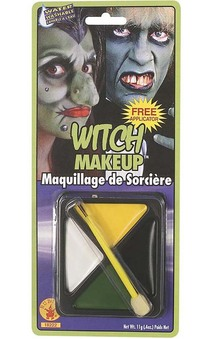 Wicked Witch Adult Child Costume Makeup