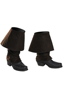 Jack Sparrow Child Boot Covers Pirates of the Caribbean