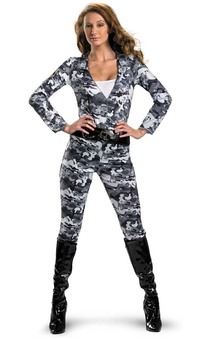 GI Joe Scarlett Adult Costume