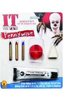 Pennywise It Scary Clown Makeup Kit