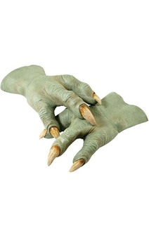 Yoda Hands Gloves Star Wars Adult Costume Accessory