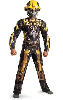 Transformers  - Bumblebee Classic Muscle Child Costume