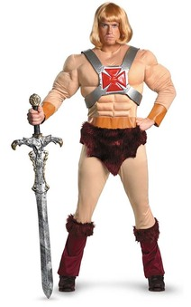 He Man Masters Of The Universe Adult Costume